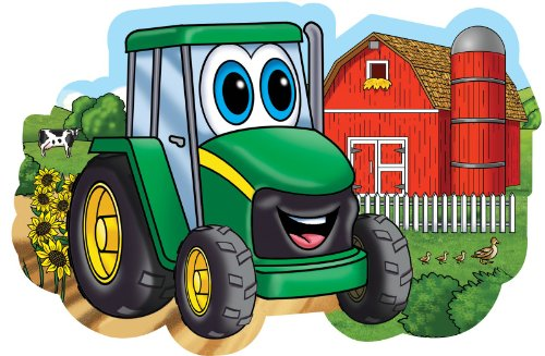 Masterpieces PuzzleCompany John Deere On The Farm Jigsaw Puzzle (48-Piece) front-381798
