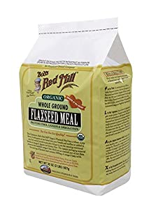 Bob's Red Mill Organic Flaxseed Meal, 32-Ounce Packages (Pack of 4)