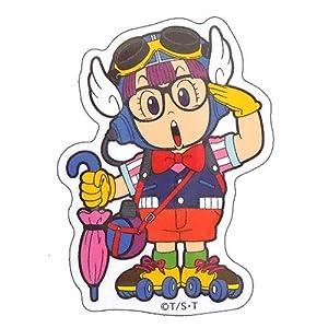 Drスランプ《アラレちゃんポーズ》miniステッカー/防水加工!!アニメキャラクターシール通販/
