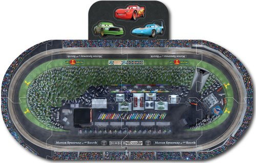 Car's 2 Die Cut Puzzle Play Mat with Pop-Out Charcater's