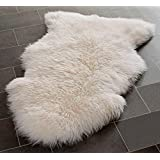 Genuine Sheepskin Rug with Extra Thick Wool (Extra Large)