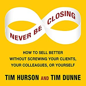 Never Be Closing Audiobook