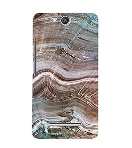 PrintVisa Marble Pattern 3D Hard Polycarbonate Designer Back Case Cover for MicromaxBoltQ338
