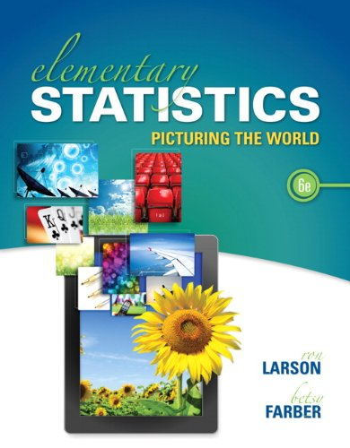 Elementary Statistics: Picturing the World (6th Edition) Chapter 1