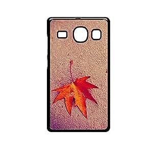 Vibhar printed case back cover for Samsung Galaxy J5 DesertedLeaf