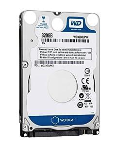 WD 320 GB 2.5-inch SATA Internal Hard Drive - Blue