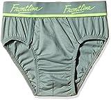 UAT Rupa Frontline Men's Cotton Briefs (1001117771233_Expand Brief Light steel XS)