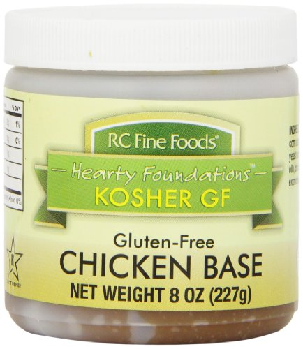 RC Fine Foods Hearty Foundations Kosher Gluten-Free Chicken Base, 8 Ounce (Chicken Stock 8oz compare prices)