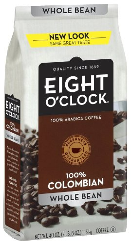 Eight O'Clock Coffee, 100% Columbian Whole Bean,