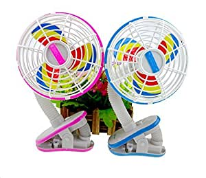 Fan for Home Car Treadmill Baby Stroller Crib Cot available at Amazon for Rs.599