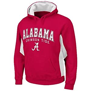 Alabama Crimson Tide NCAA Turf Red Pullover Hooded Sweatshirt