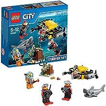 Lego City - 60091 - Jeu De Construction - Ensemble De Démarrage Sous-marin