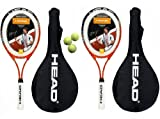 2 x Head Ti.Radical 27 Tennis Rackets & 3 Head Tennis Balls RRP £90