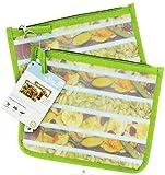 Zip Seal Lunch Bag - Kiwi 2 Pack(S)