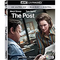 The Post [4K Ultra HD + Blu-ray]