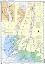 NOAA Chart 14852 St Clair RiverHead of St Clair River