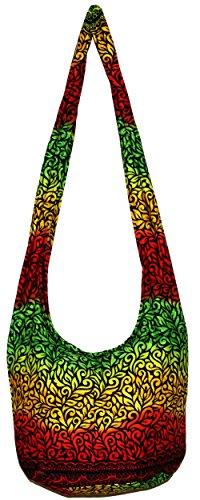 All Best Thing Crossbody Bohemian Hippie Hobo Boho Big Bag 37 Inch Length BOH16