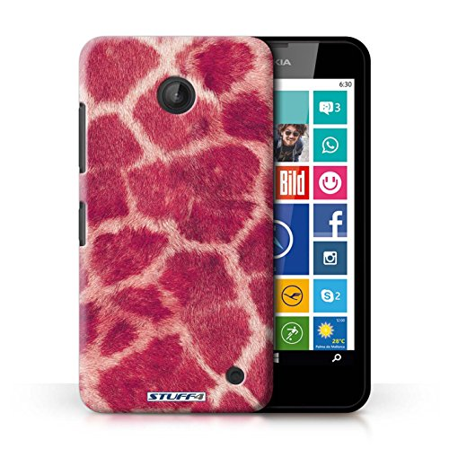 kobaltr-imprime-etui-coque-pour-nokia-lumia-635-rose-conception-serie-girafe-animale-peau-motif