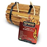 Wood Products 9904 Fatwood Round Bundle Burlap, 4 Pounds