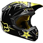 Fox Racing Youth V1 Rockstar Helmet - 2011 - Youth Small/Black