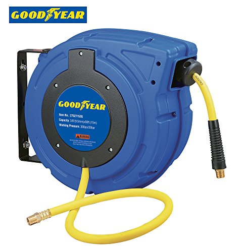 goodyear-27527153g-enclosed-retractable-air-compressor-water-hose-reel-with-3-8-in-x-50-ft-hybrid-po