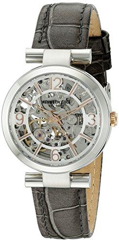 Orologio da donna Kenneth Cole modello automatico argentato e grigio–10027309