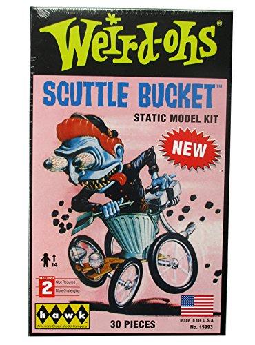 Weird Ohs Static Monster Model Kit Scuttle Bucket By Hawk Skill Level 2