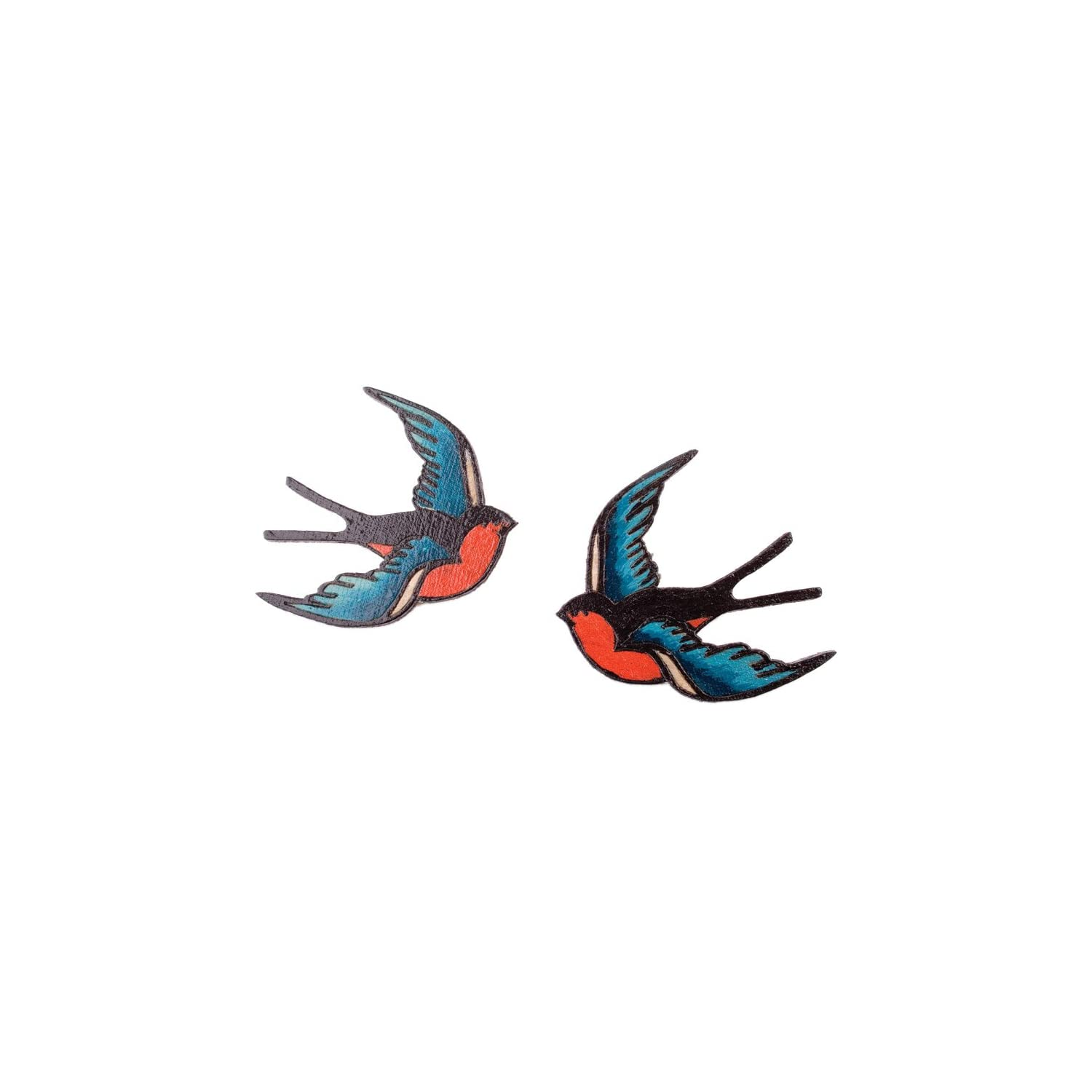 tatty devine swallow brooches