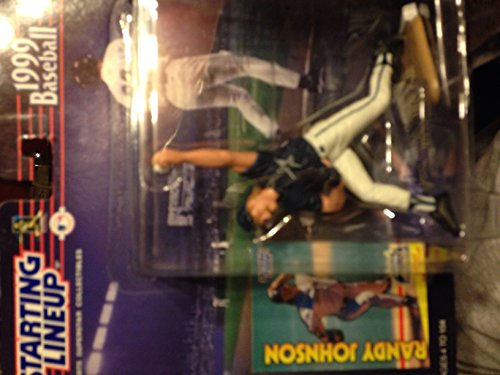 RANDY JOHNSON / HOUSTON ASTROS 1999 MLB Starting Lineup Action Figure & Exclusive Collector Trading Card