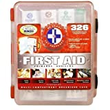 First Aid Kit With Hard Case - 326 pcs