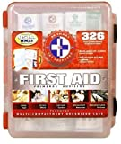 First Aid Kit With Hard Case- 326 pcs- First Aid Complete Care...