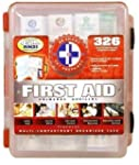 First Aid Kit With Hard Case- 326 pcs...