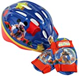 Mickey Mouse Club Micro Bicycle Helmet and Protective Pad Value Pack (Toddler)