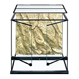 Exo Terra Short All Glass Terrarium, 36 by 18 by 12-Inch