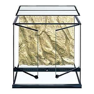 Exoterra Terrarium en Verre pour Reptiles et Amphibiens 90x45x30 cm