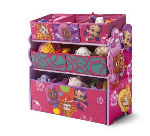 Nickelodeon Bubble Guppies Multi-Bin Toy Organizer front-1032242