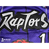 Vince Carter #15 Toronto Raptors Purple Throwback Jersey