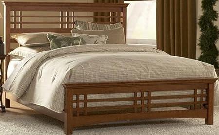 Ladson Oak Bed, FULL, OAK