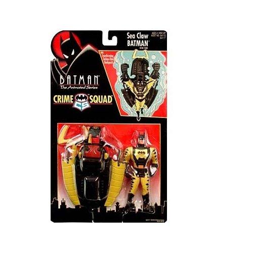Batman: The Animated Series Crime Squad Sea Claw Batman Action Figure