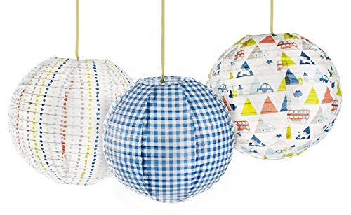 Kidsline Roadmap Lanterns, 3 Count - 1