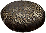 DreamTime Perfect Balance Zafu Cushion, Gold Brocade Dragons