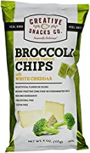 Creative Snacks Super Veggie Chips with White Cheddar Broccoli 40 Ounce