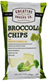 Creative Snacks Super Veggie Chips with White Cheddar, Broccoli, 4.0 Ounce