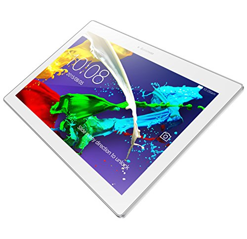 Lenovo TAB 2 A10-70 25,7 cm (10,1 Zoll FHD IPS) Multimedia Tablet (MTK MT8732 QC, 1,5GHz, 2GB RAM, 16GB eMMC, CAM 5MP Front/8MP Back, LTE, Android) perl weiß