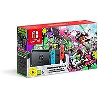 Nintendo Switch Console with Splatoon 2 + Neon Green/Neon Pink Joy-Cons (Nintendo Switch)