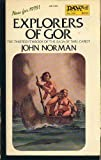 John Norman Norman John : Tarl Cabot Saga 13:Explorers of Gor (Daw science fiction)