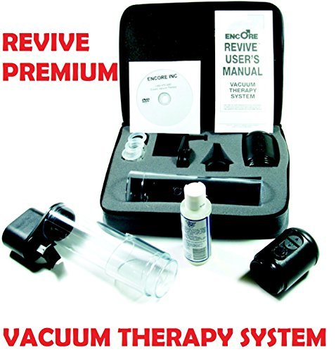 Encore Revive Premium ED Pump (Advanced Vacuum Therapy Device) - Perfect for Combination Therapy with Viberect (sold separately) (Ed Rings compare prices)