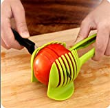 CHANS Tomato Slicer ,Multifunctional Handheld Tomato Round Slicer Fruit Vegetable Cutter,Lemon Shreadders Slicer