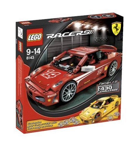 LEGO Racers 8143 Ferrari F430 Challenge