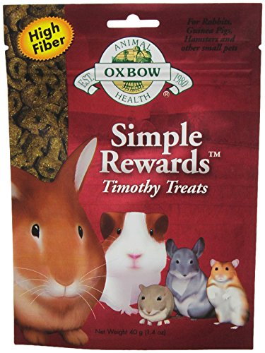 Oxbow Animal Health Simple Rewards Timothy Treat for Pets, 1.4-Ounce